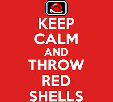 Keep Calm and Throw Red Shells Unisex T-Shirt