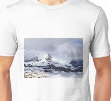 Cloud covered peak Unisex T-Shirt