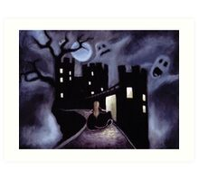 Once Upon a Haunted Fairy Tale Art Print