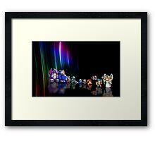 Wonder Boy in Monster World pixel art Framed Print