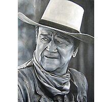 John Wayne (oil painting) Photographic Print