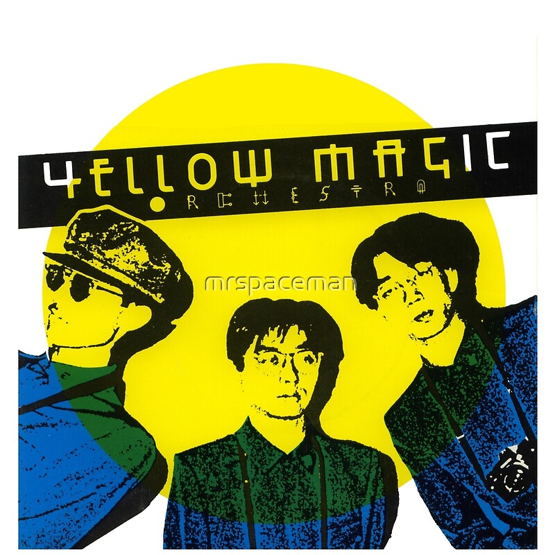 "Yellow Magic Orchestra"" Tote Bags by mrspaceman 