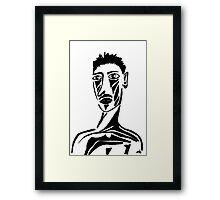 Portrait of Tristan Framed Print