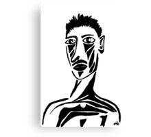 Portrait of Tristan Canvas Print