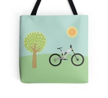 Downhill mountainbike Tote Bag