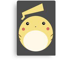 Pikachu Ball Canvas Print