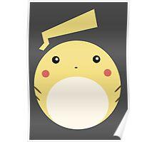 Pikachu Ball Poster
