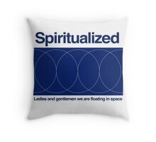 Spiritualized - We Are Floating In Space Throw Pillow