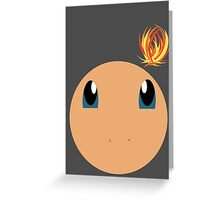 Charmander Ball Greeting Card