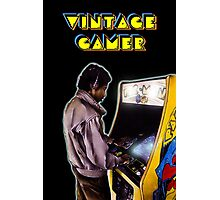 Vintage Gamer 80's Photographic Print