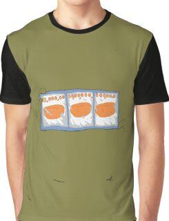 3 Mandarins - The Big Lez Show Graphic T-Shirt