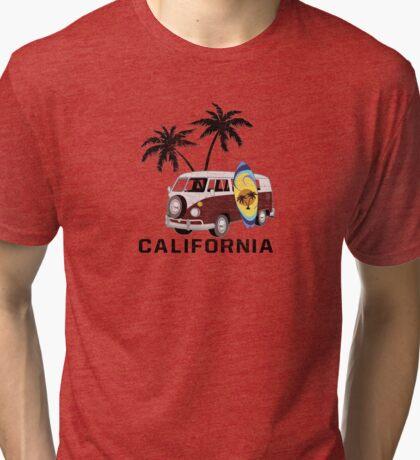California Surfin' Tri-blend T-Shirt