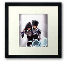 Percico Voltron Crossover Framed Print