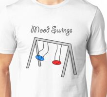 Funny Mood Swings Cartoon Unisex T-Shirt