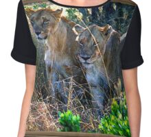 Out Of Africa #4 Chiffon Top