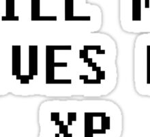 Give Me XP Funny Sticker