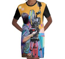 Director of photograph DOP Graphic T-Shirt Dress