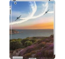 Blades Over The Needles iPad Case/Skin