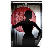 Elegant silhouette Poster