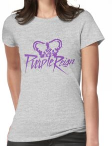 Purple Reign  Womens Fitted T-Shirt