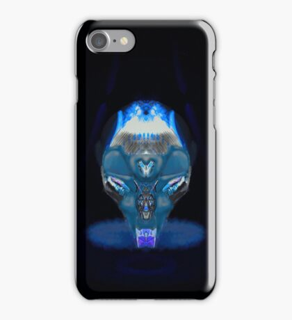 Cyberpunk Holoskull iPhone Case/Skin