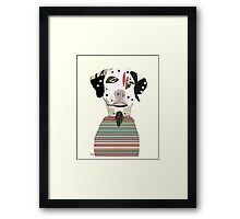 dalmatian days Framed Print