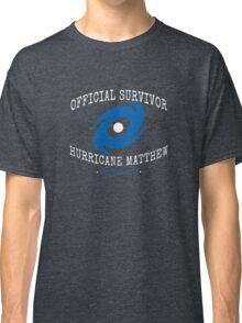 Official Survivor Hurricane Matthew Classic T-Shirt