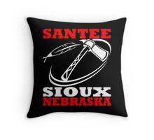 SANTEE SIOUX Throw Pillow