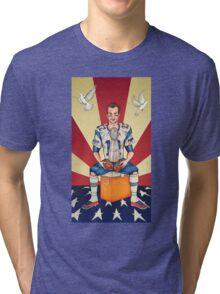 Tom Brady: Soft Balls Hard Trophy Tri-blend T-Shirt