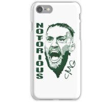 Notorius Conor McGregor iPhone Case/Skin