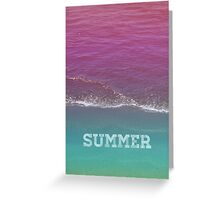 Summer // Cards Greeting Card