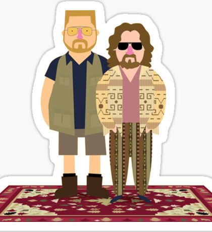 Jeffrey & Walter Sticker