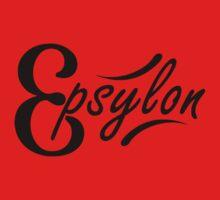Epsylon - White background One Piece - Short Sleeve