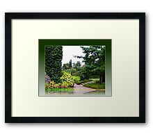 Spoiled for Choice! Green, Green or Green? Framed Print