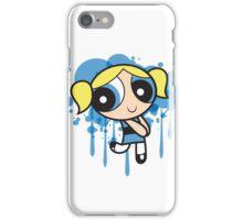 The Blue Powerpuff Sticker iPhone Case/Skin