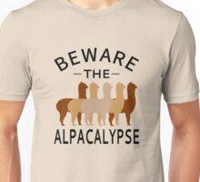Beware The Alpacalypse Unisex T-Shirt