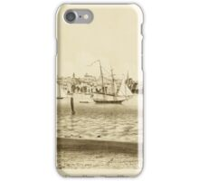 Map of Newport 1859 iPhone Case/Skin