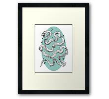 Union Snake Framed Print
