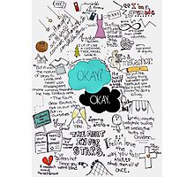 The Fault in Our Stars - ORIGINAL ARTIST Photographic Print