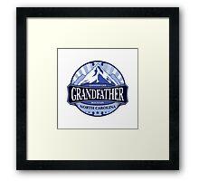 Grandfather Mountain North Carolina Framed Print