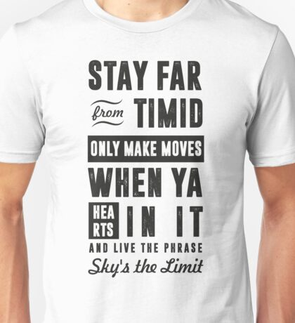 SKY'S THE LIMIT Unisex T-Shirt