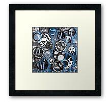 The Mick J - Original Art Framed Print