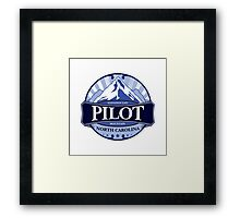 Pilot Mountain North Carolina Framed Print