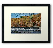 The Dam Framed Print