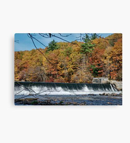 The Dam Canvas Print