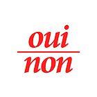 Oui/Non by GalaxyEyes