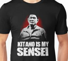 BATTLE ROYALE MOVIE TAKESHI KITANO IS MY SENSEI  Unisex T-Shirt