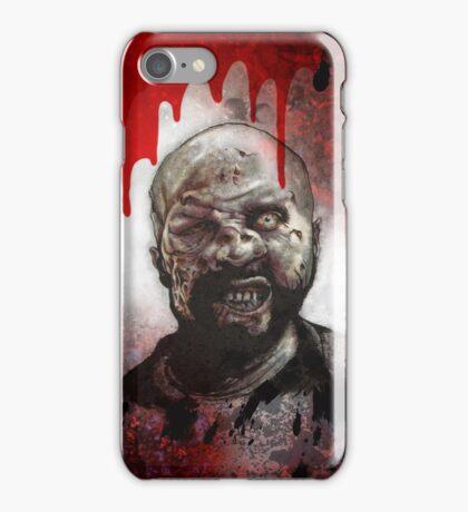Blood Splatter Zombie iPhone Case/Skin