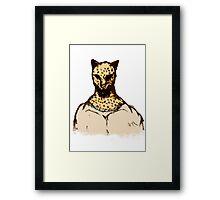King II (Color) Framed Print