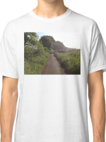 Sunshine On Footpath In The Countryside Classic T-Shirt